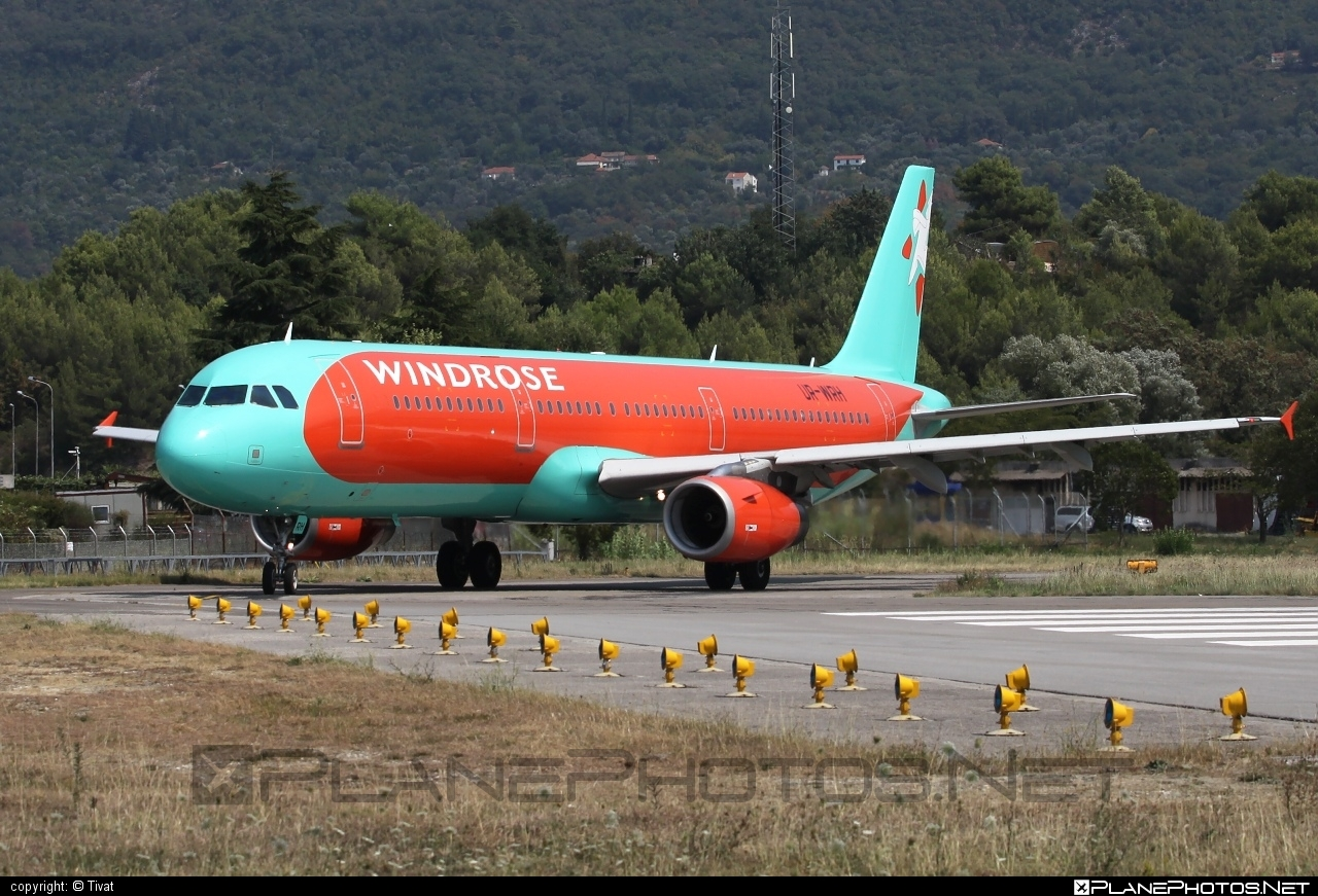 Airbus A321-231 - UR-WRH operated by Windrose Airlines #a320family #a321 #airbus #airbus321 #windroseairlines