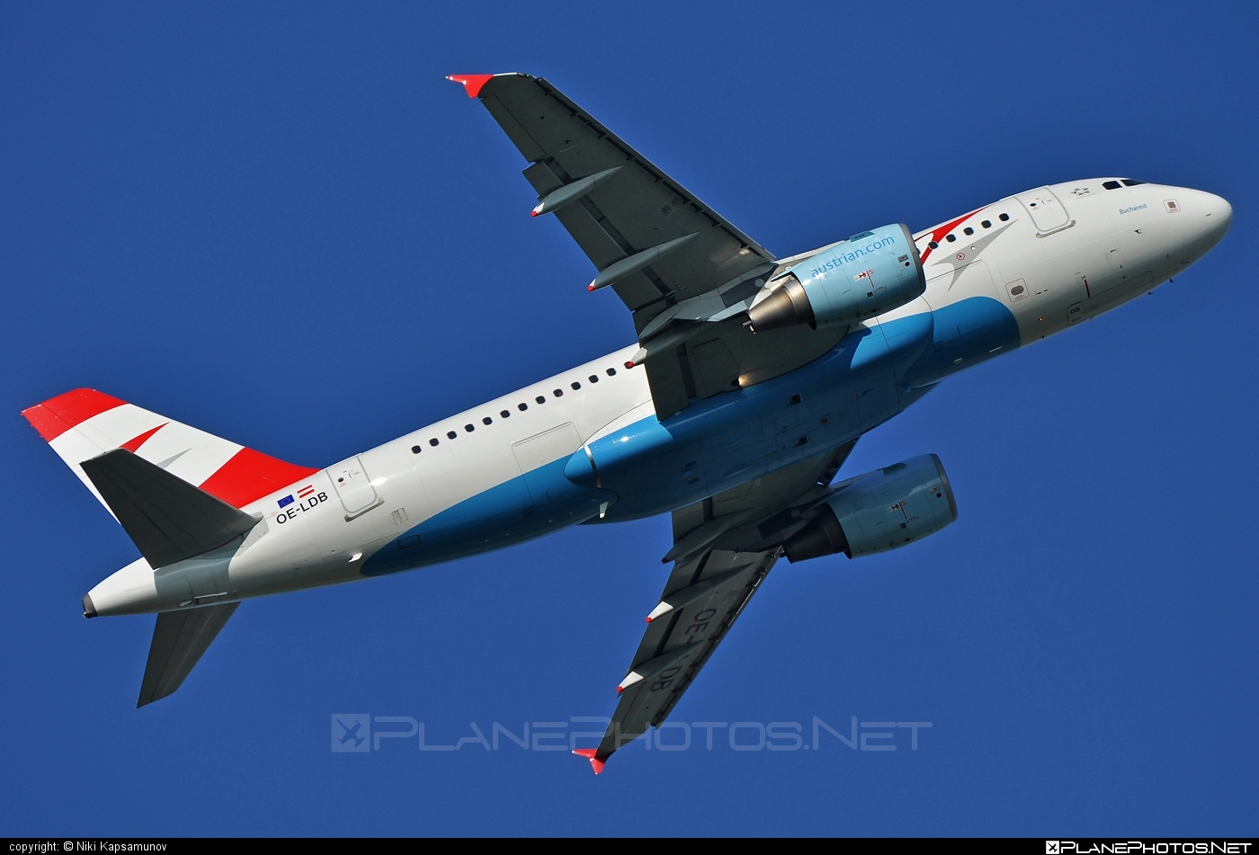 Airbus A319-112 - OE-LDB operated by Austrian Airlines #a319 #a320family #airbus #airbus319