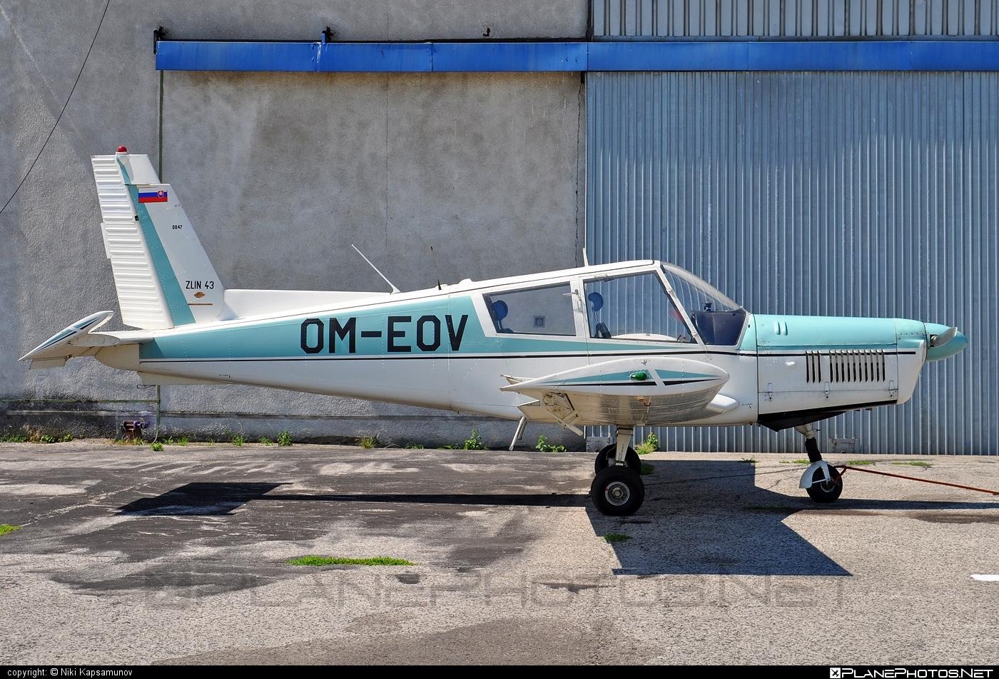 Zlin Z-43 - OM-EOV operated by Aeroklub Trnava #boleraz #z43 #zlin #zlin43