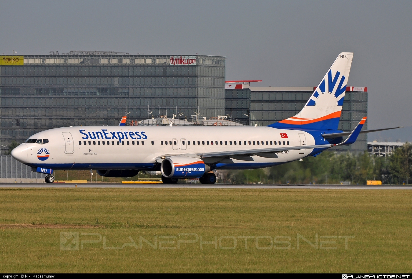 Boeing 737-800 - TC-SNO operated by SunExpress #b737 #b737nextgen #b737ng #boeing #boeing737 #sunexpress