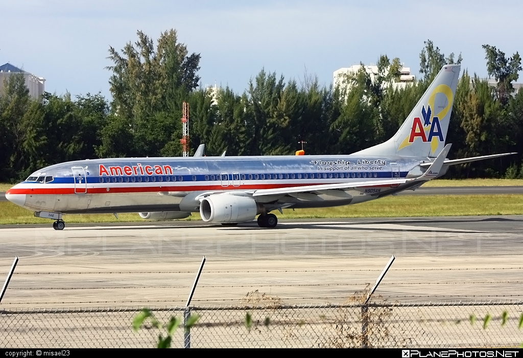 Boeing 737-800 - N905AN operated by American Airlines #americanairlines #b737 #b737nextgen #b737ng #boeing #boeing737