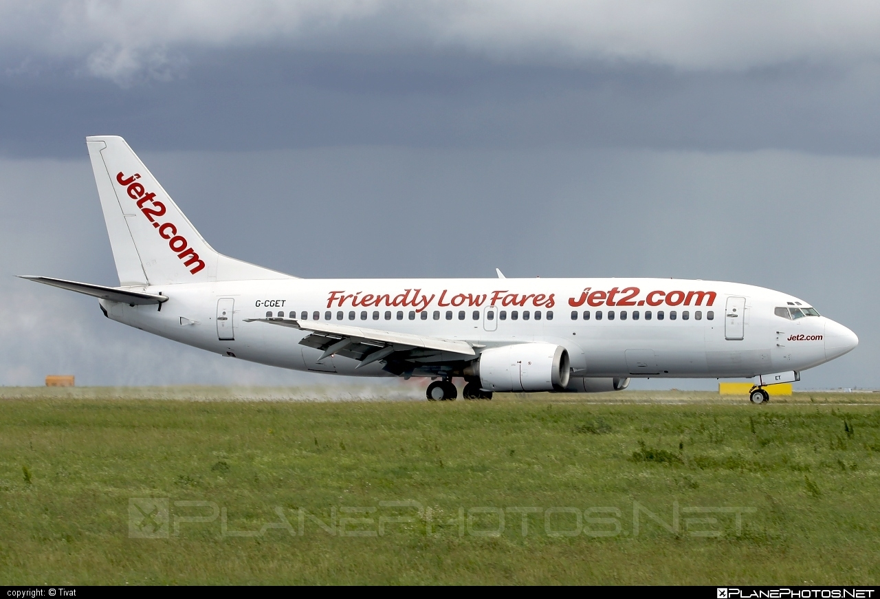 Boeing 737-300 - G-CGET operated by Jet2 #b737 #boeing #boeing737 #jet2