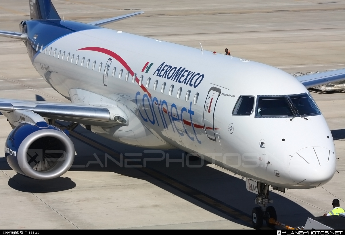 Embraer 190-100IGW - XA-MAC operated by Aeroméxico Connect #e190 #embraer #embraer190 #embraer190igw