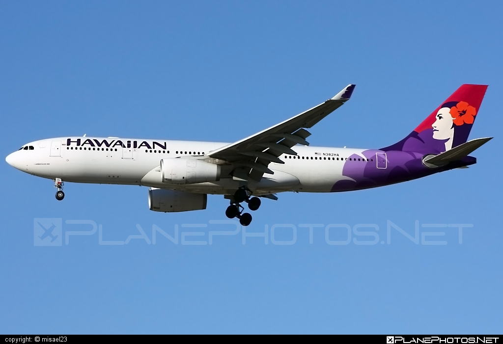 Airbus A330-243 - N382HA operated by Hawaiian Airlines #a330 #a330family #airbus #airbus330