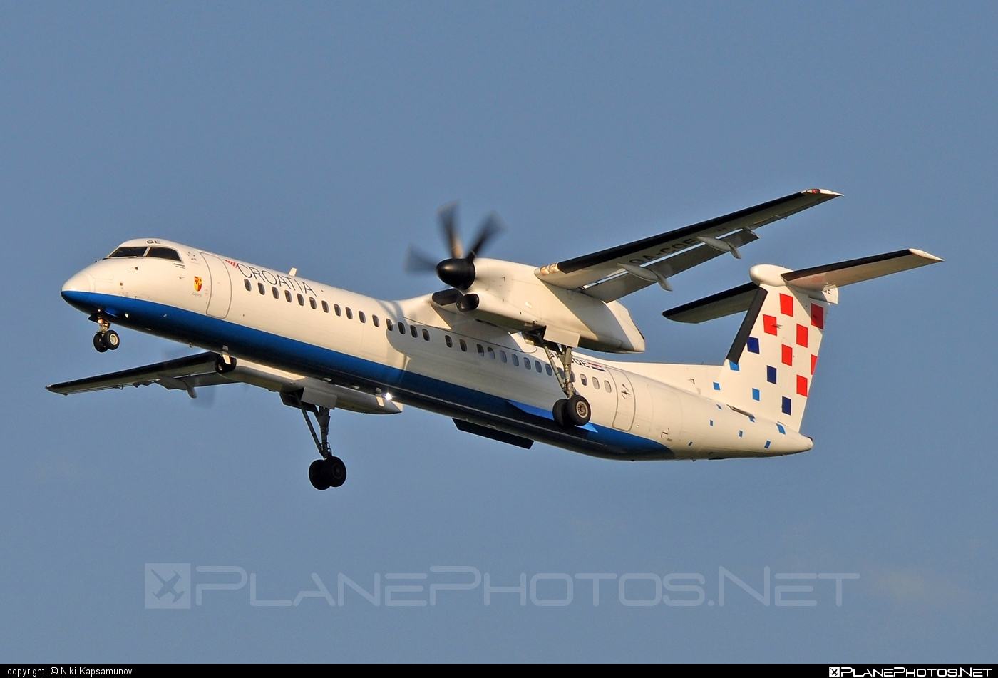 Bombardier DHC-8-Q402 Dash 8 - 9A-CQE operated by Croatia Airlines #bombardier #dash8 #dhc8 #dhc8q402
