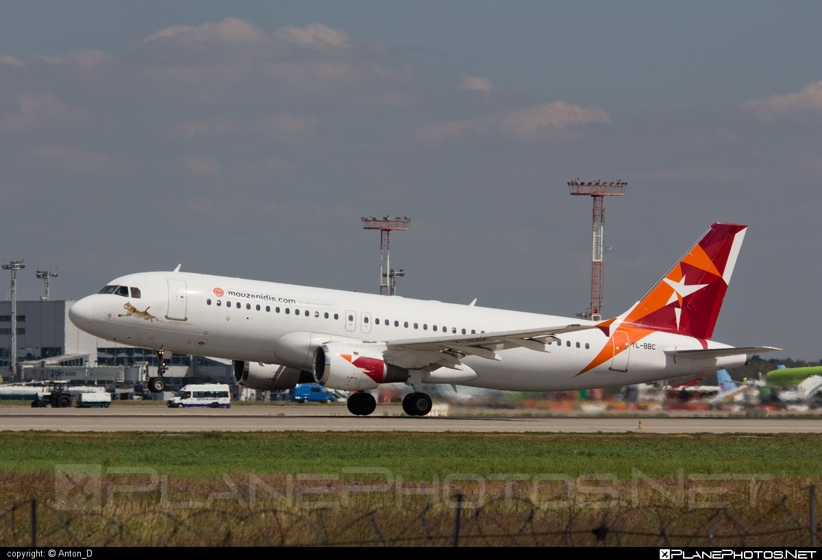 Airbus A320-211 - YL-BBC operated by SmartLynx Airlines #a320 #a320family #airbus #airbus320