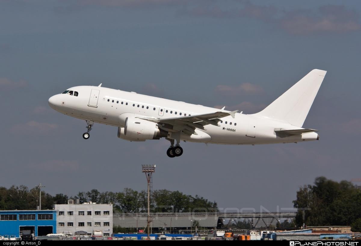 Airbus ACJ318-112 - M-HHHH operated by Kutus #acj318 #acj318112 #airbus #airbuscorporatejet
