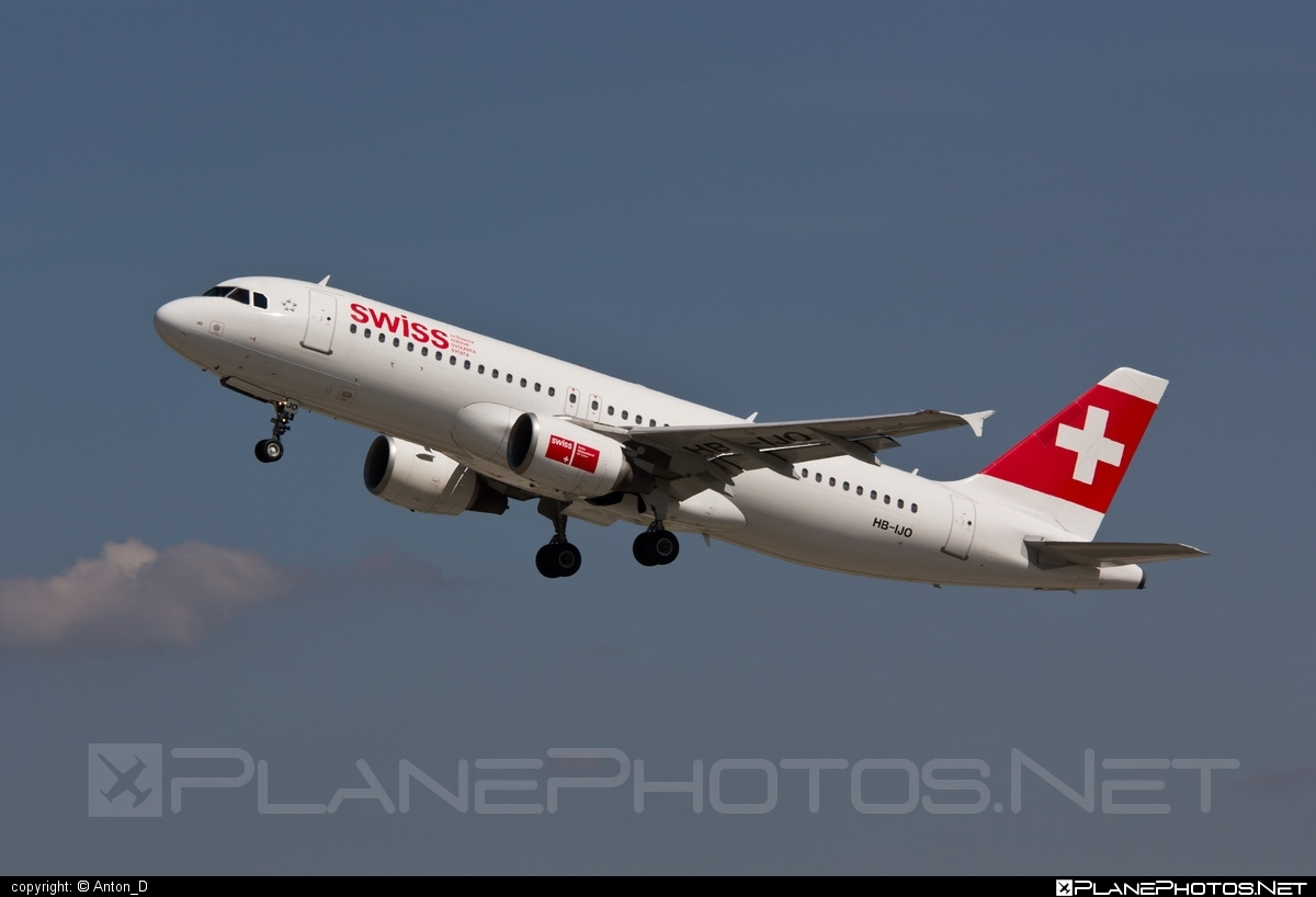 Airbus A320-214 - HB-IJO operated by Swiss International Air Lines #a320 #a320family #airbus #airbus320 #swiss #swissairlines