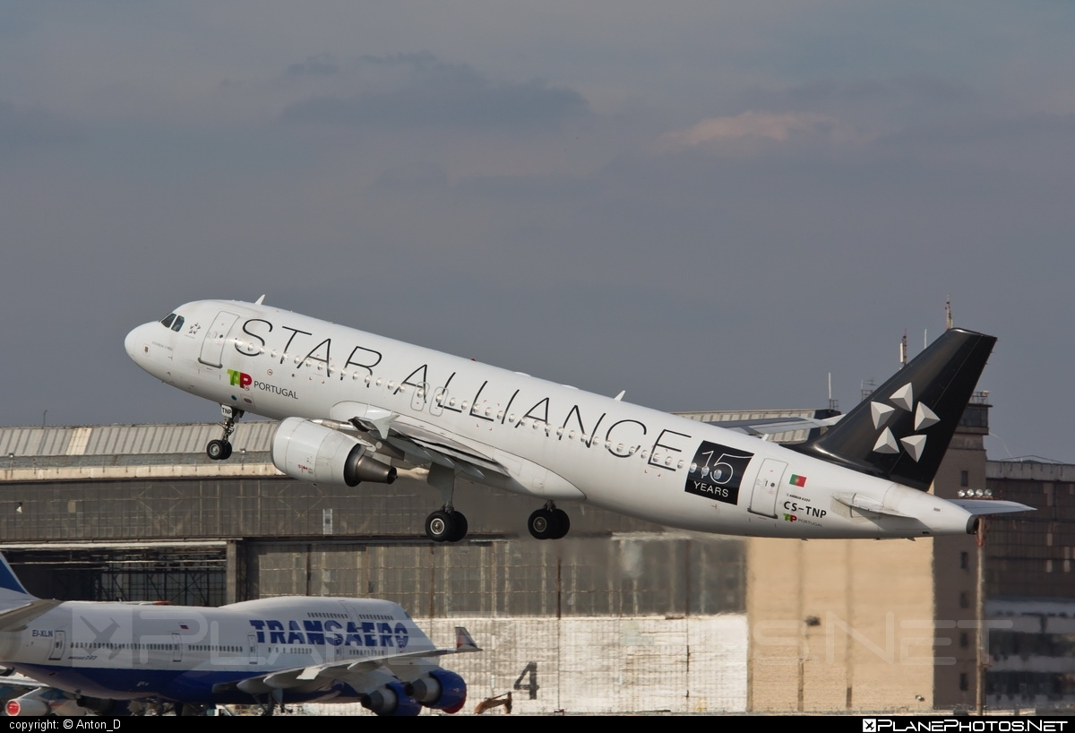 Airbus A320-214 - CS-TNP operated by TAP Portugal #a320 #a320family #airbus #airbus320 #staralliance