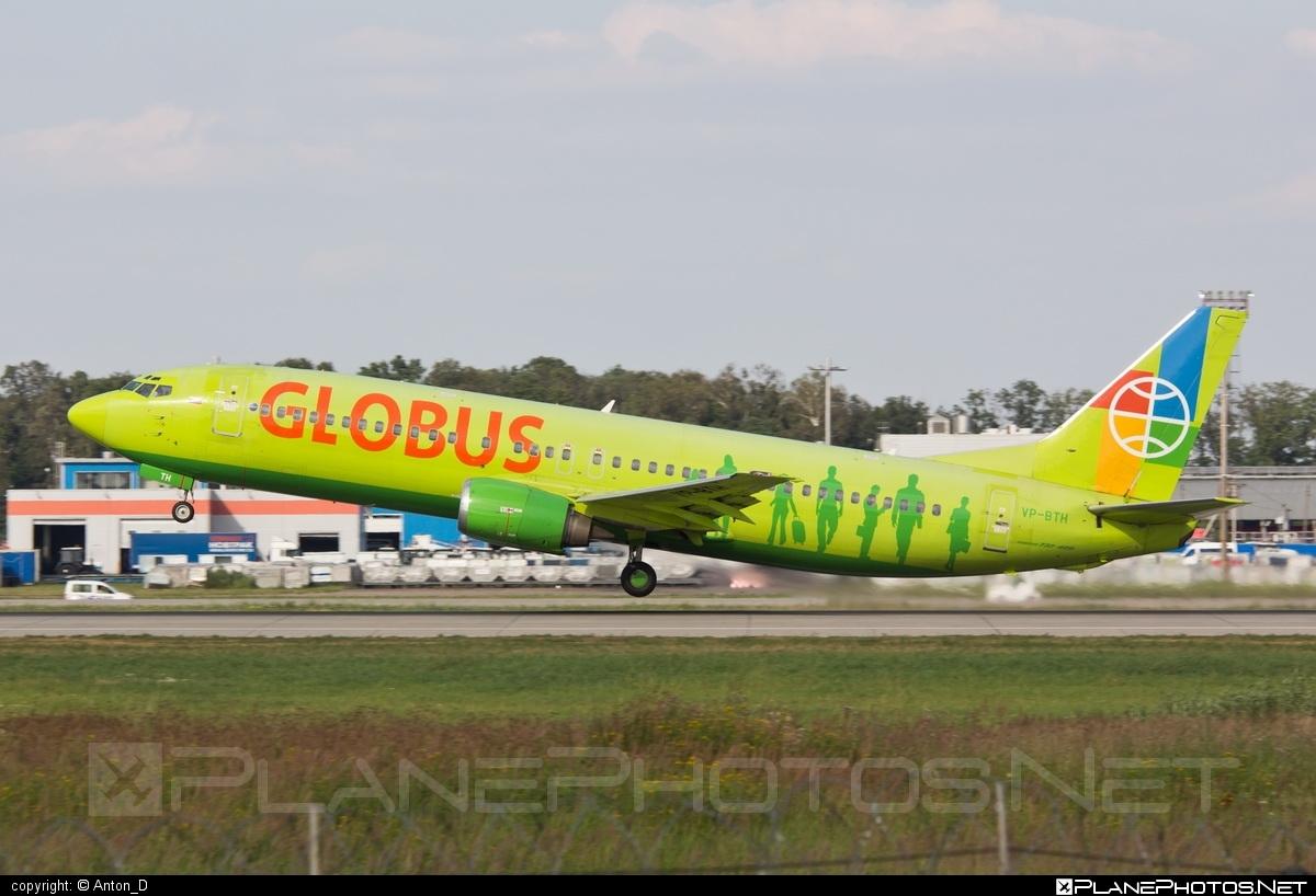 Boeing 737-400 - VP-BTH operated by Globus Airlines #b737 #boeing #boeing737