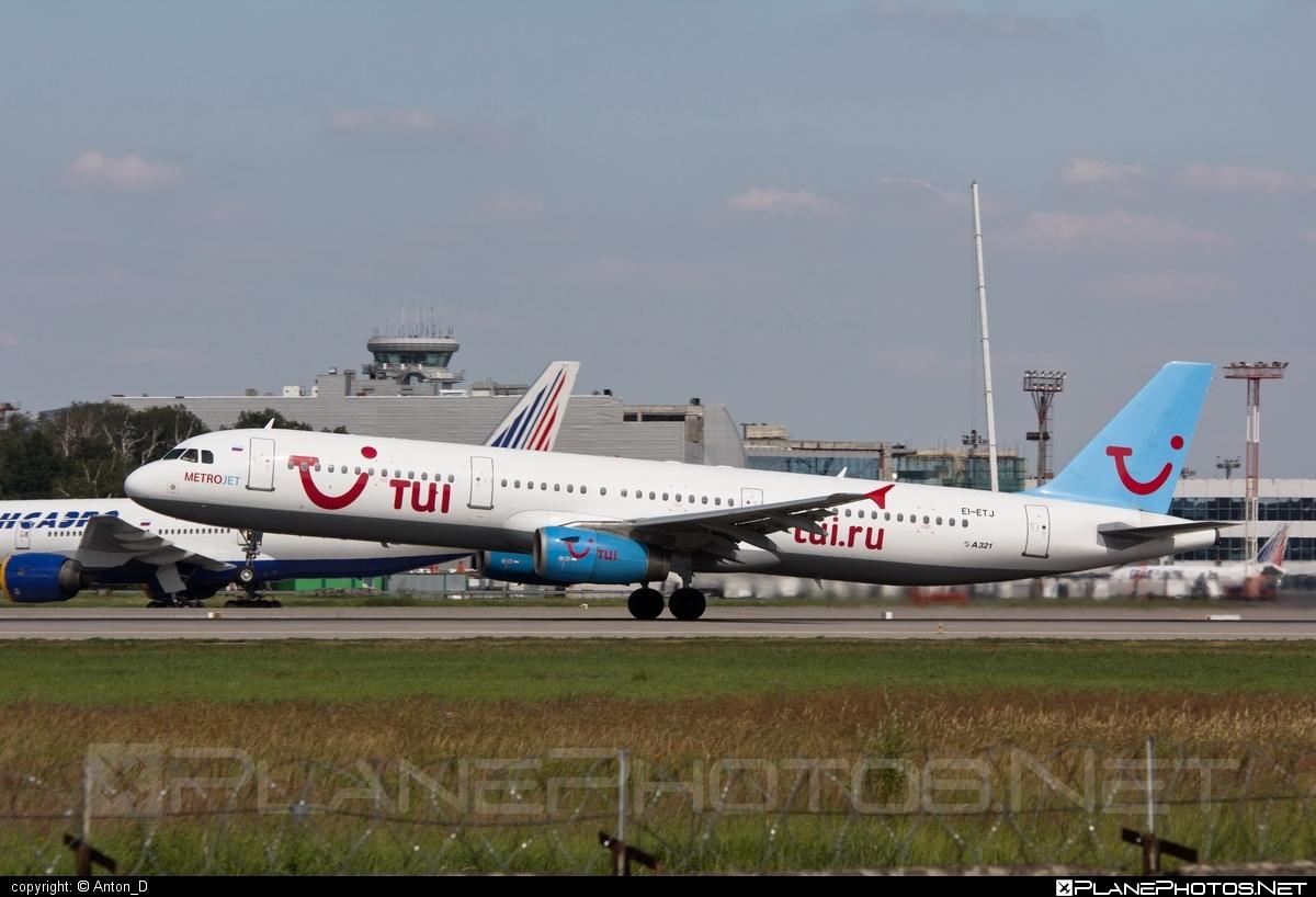Airbus A321-231 - EI-ETJ operated by Kolavia #a320family #a321 #airbus #airbus321