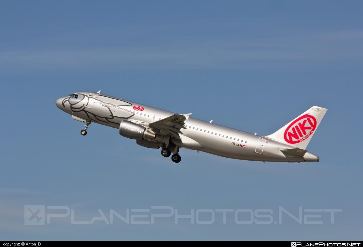 Airbus A320-214 - OE-LEH operated by Niki #a320 #a320family #airbus #airbus320 #flyniki #niki