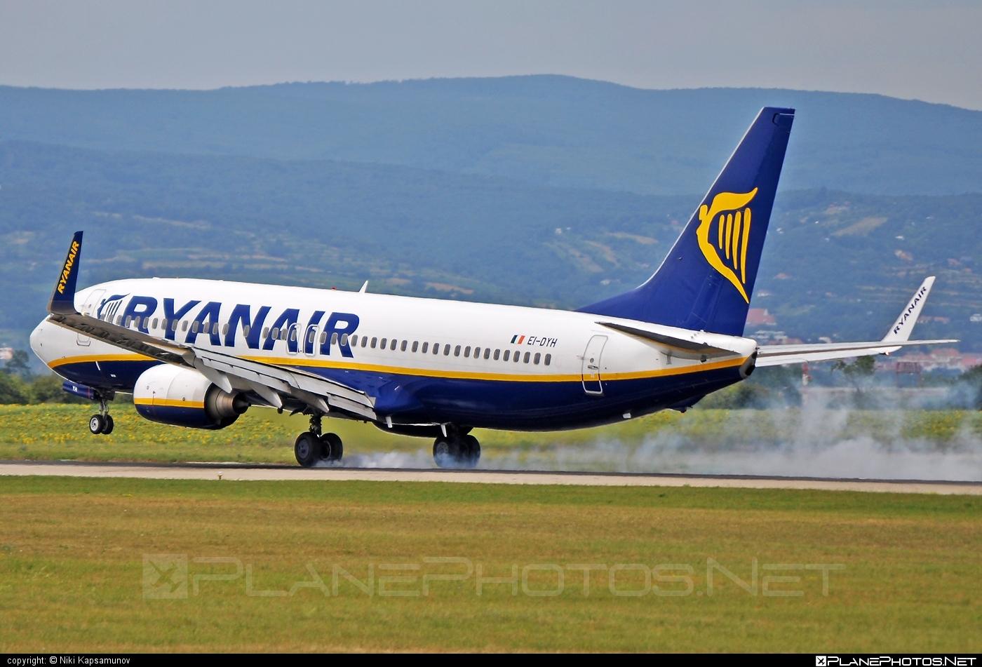 Boeing 737-800 - EI-DYH operated by Ryanair #b737 #b737nextgen #b737ng #boeing #boeing737 #ryanair