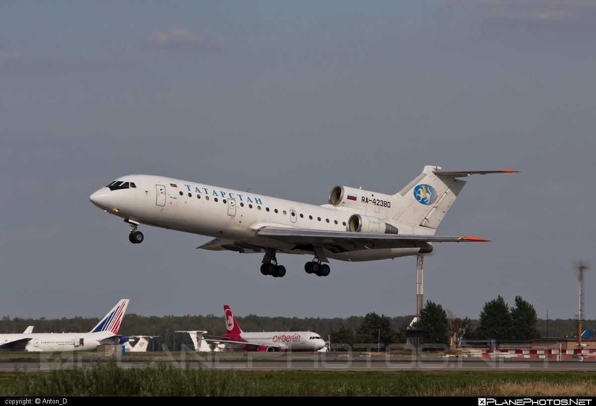 Yakovlev Yak-42D - RA-42380 operated by Tatarstan Airlines #yak #yak42 #yak42d #yakovlev