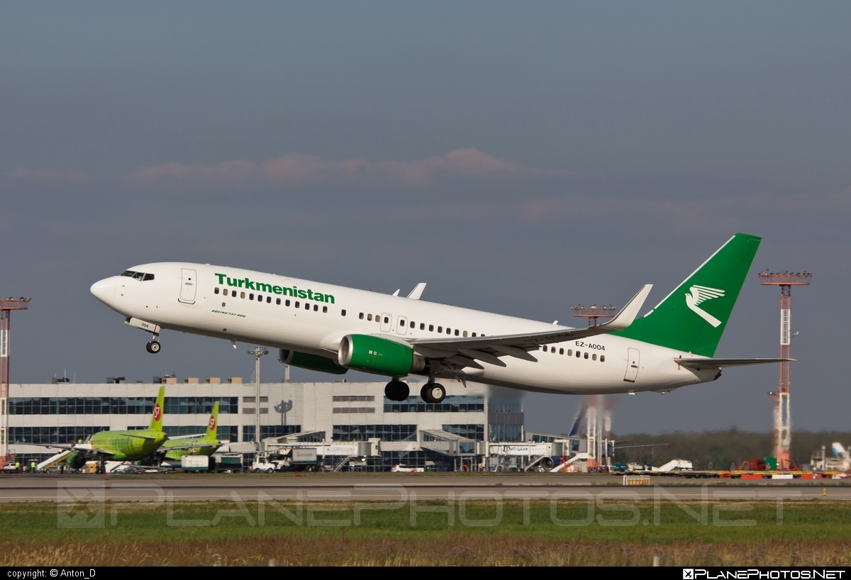 Boeing 737-800 - EZ-A004 operated by Turkmenistan Airlines #b737 #b737nextgen #b737ng #boeing #boeing737