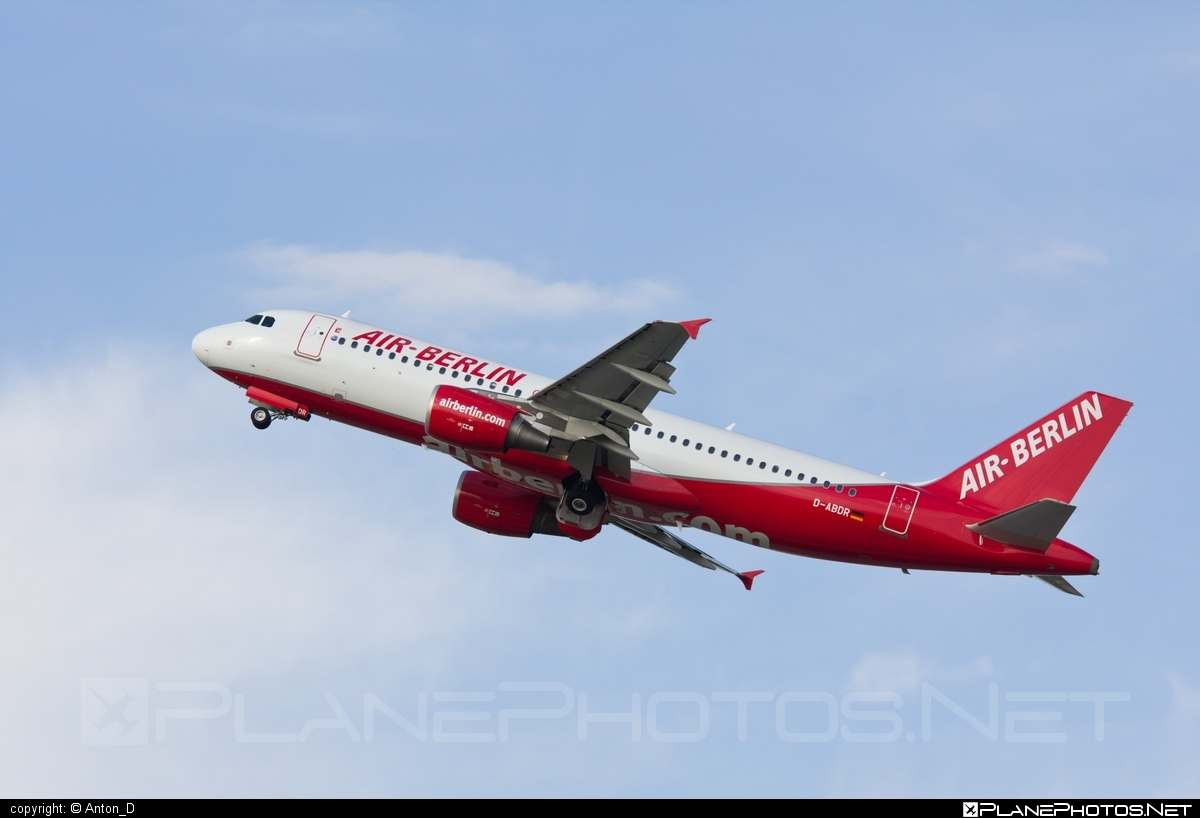 Airbus A320-214 - D-ABDR operated by Air Berlin #a320 #a320family #airberlin #airbus #airbus320