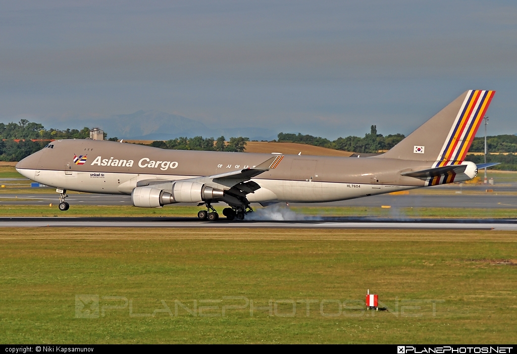 Boeing 747-400F - HL7604 operated by Asiana Cargo #asianacargo #b747 #boeing #boeing747 #jumbo