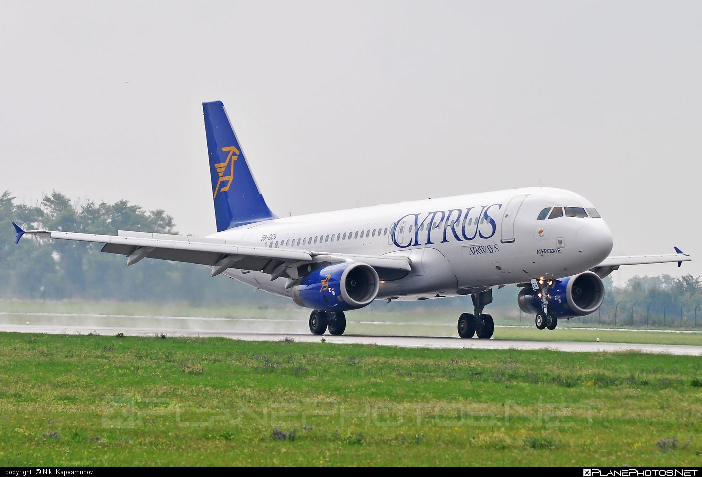 Airbus A320-232 - 5B-DCG operated by Cyprus Airways #a320 #a320family #airbus #airbus320
