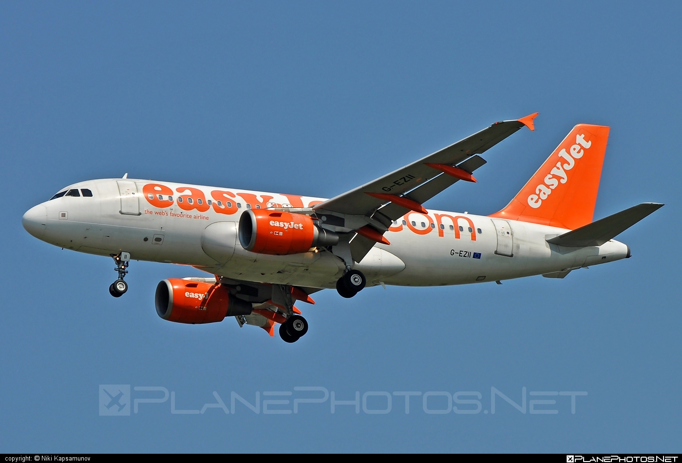 Airbus A319-111 - G-EZII operated by easyJet #a319 #a320family #airbus #airbus319 #easyjet