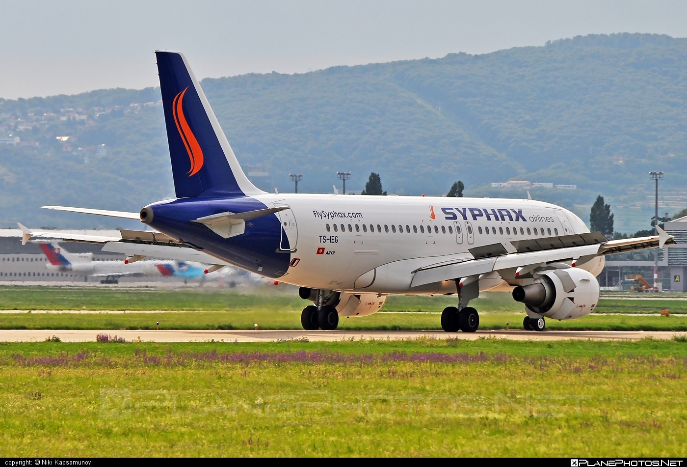 Airbus A319-112 - TS-IEG operated by Syphax Airlines #a319 #a320family #airbus #airbus319