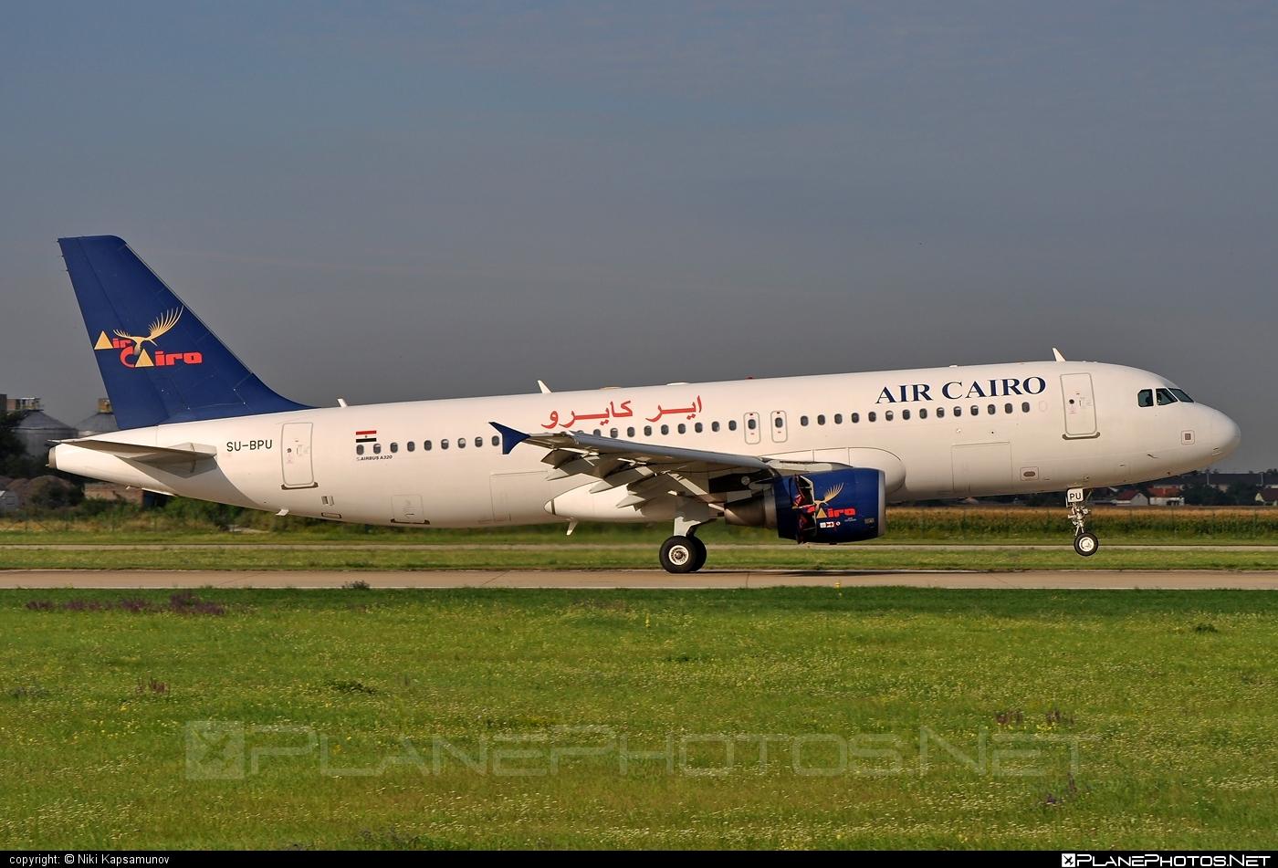 Airbus A320-214 - SU-BPU operated by Air Cairo #a320 #a320family #airbus #airbus320 #aircairo
