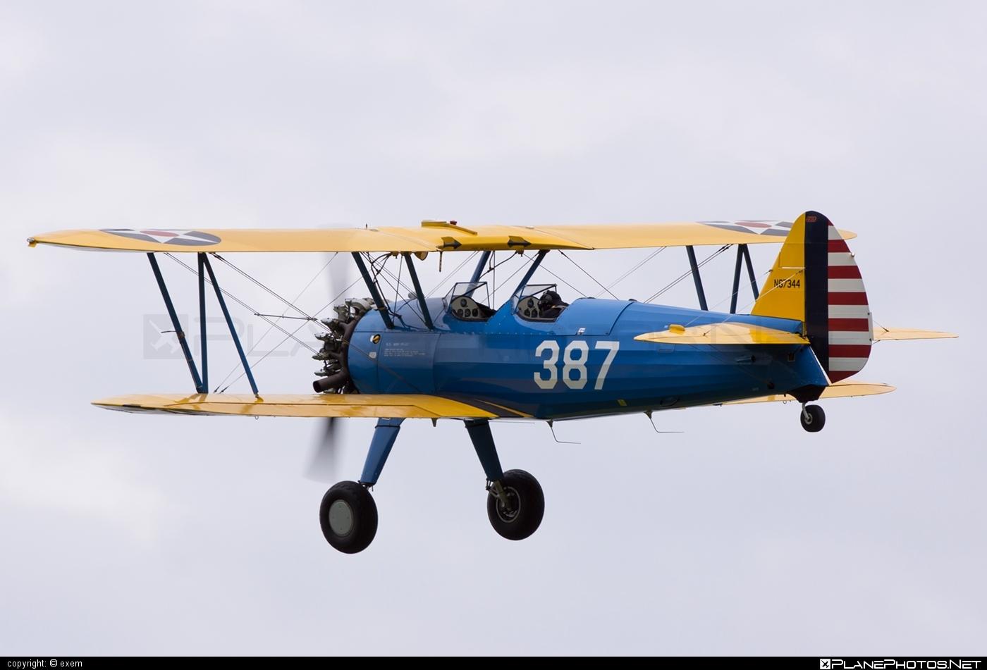 Boeing N2S-3 Kaydet - N67344 operated by Private operator #boeing #boeingkaydet #boeingn2s3 #boeingstearman #stearman