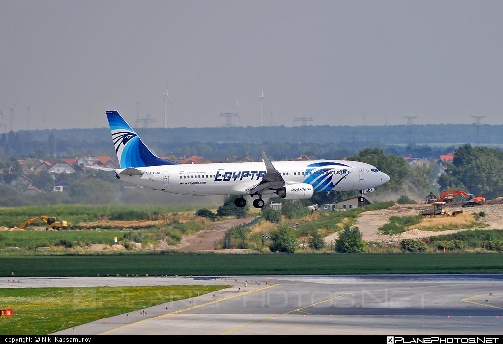 Boeing 737-800 - SU-GDA operated by EgyptAir #b737 #b737nextgen #b737ng #boeing #boeing737