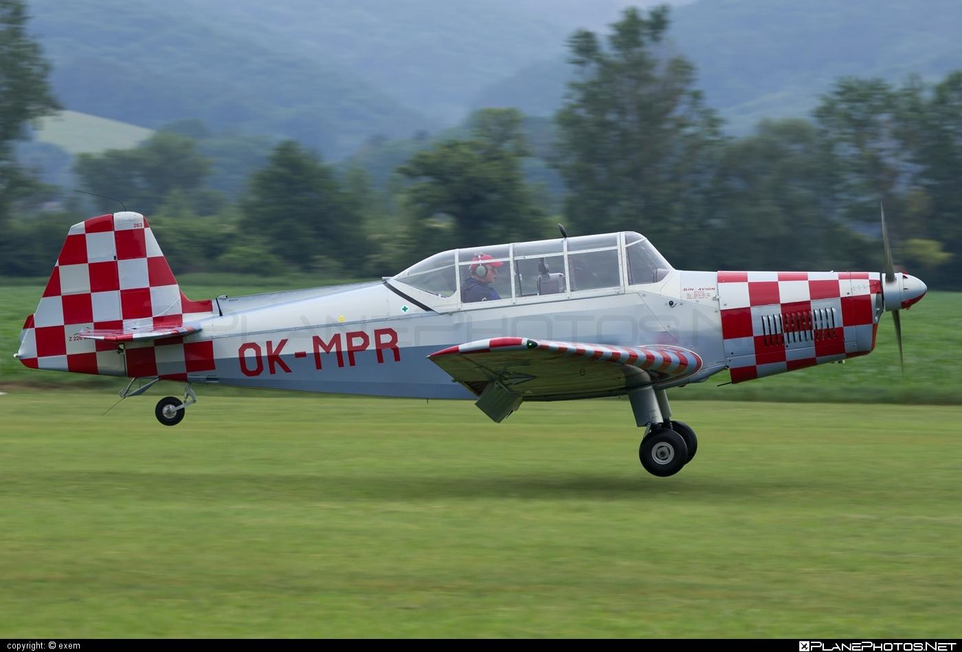 Zlin Z-226MS Trenér - OK-MPR operated by Slezský aeroklub Zábřeh #z226 #z226trener #zlin #zlin226 #zlintrener