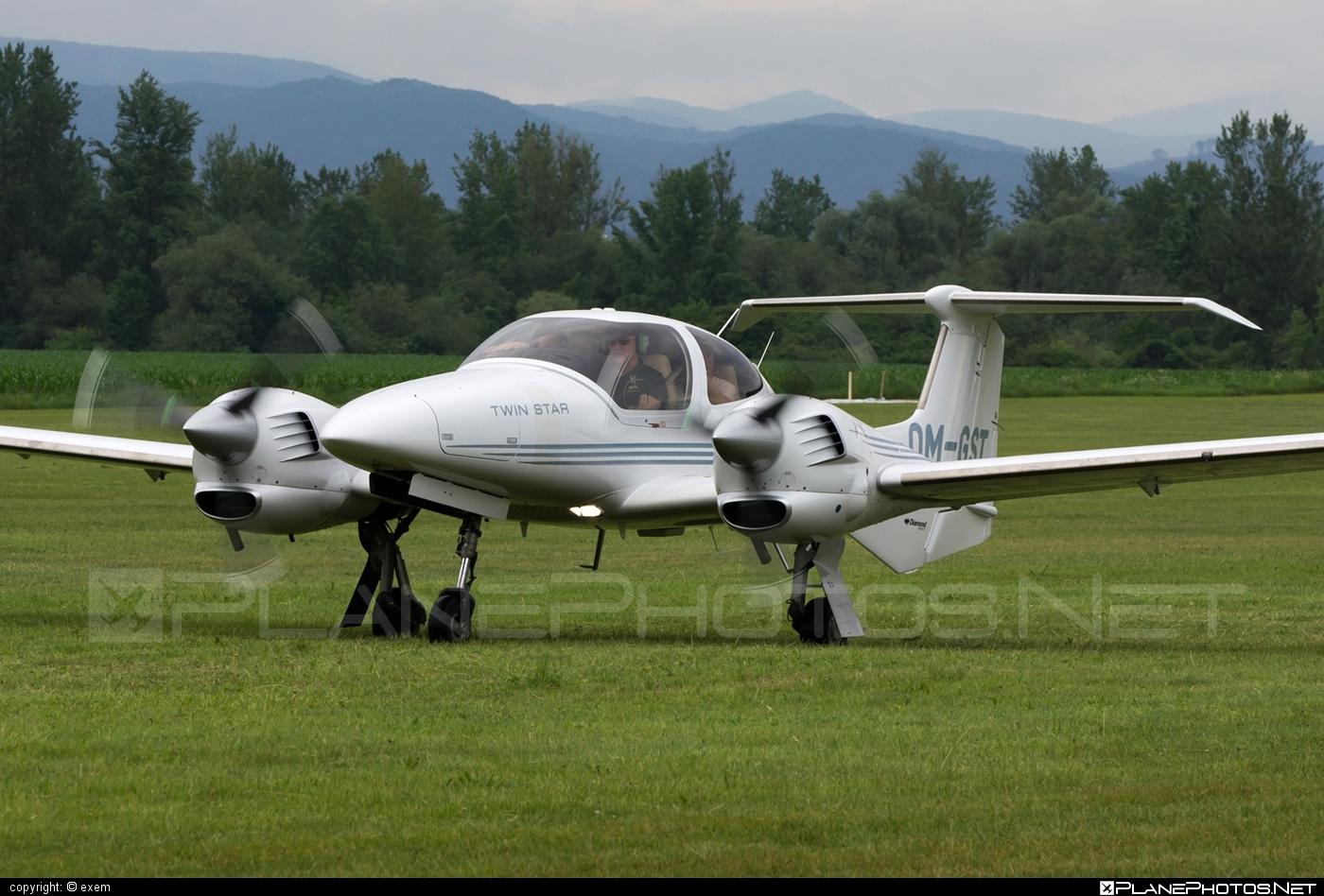 Diamond DA42 TDi Twin Star - OM-GST operated by Seagle Air FTO #diamond