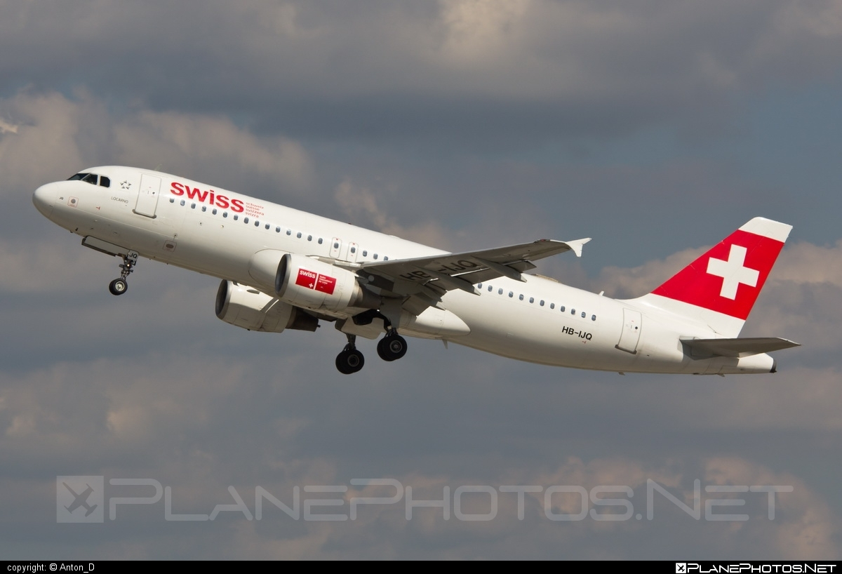 Airbus A320-214 - HB-IJQ operated by Swiss International Air Lines #a320 #a320family #airbus #airbus320 #swiss #swissairlines