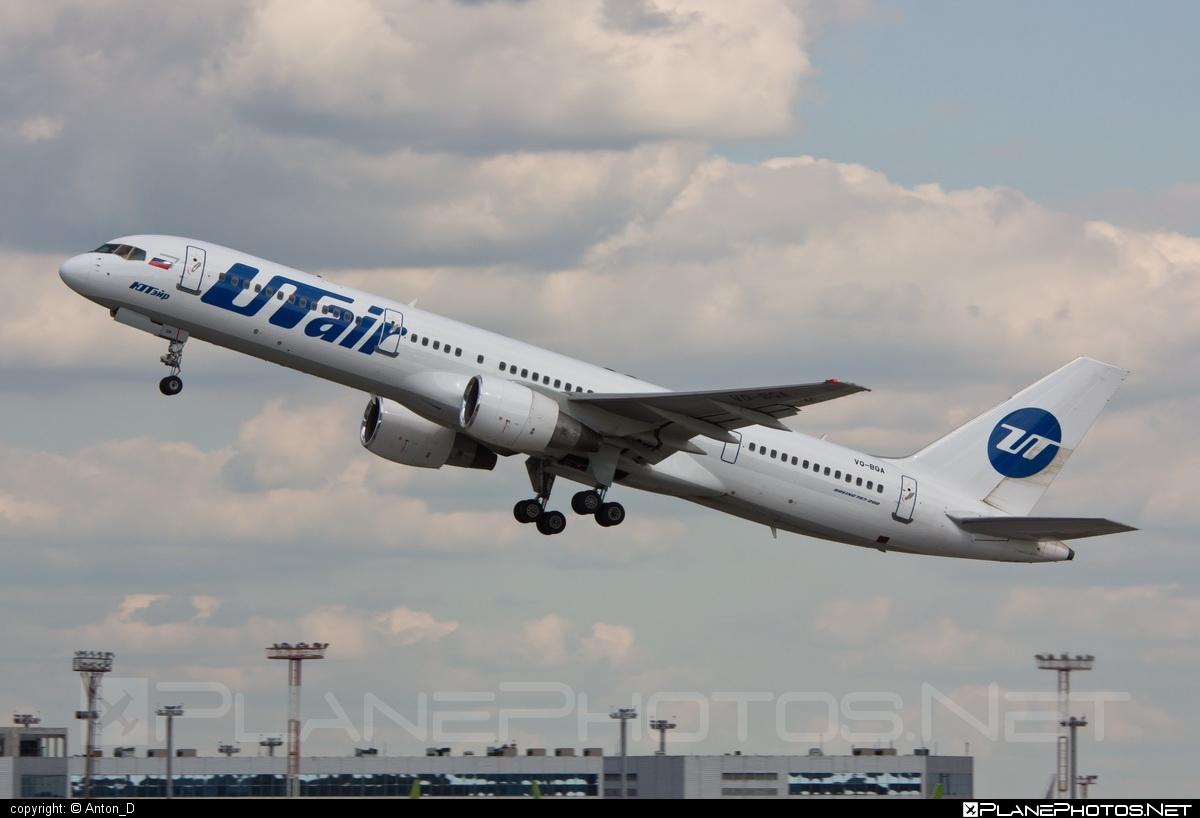 UTair Aviation Boeing 757-200 - VQ-BQA #b757 #boeing #boeing757 #utair #utairaviation