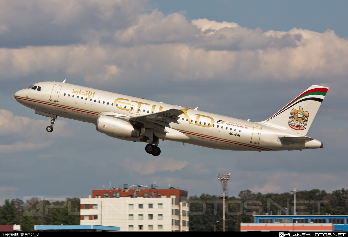 Airbus A320-232 - A6-EIH operated by Etihad Airways #a320 #a320family #airbus #airbus320 #etihad #etihadairways