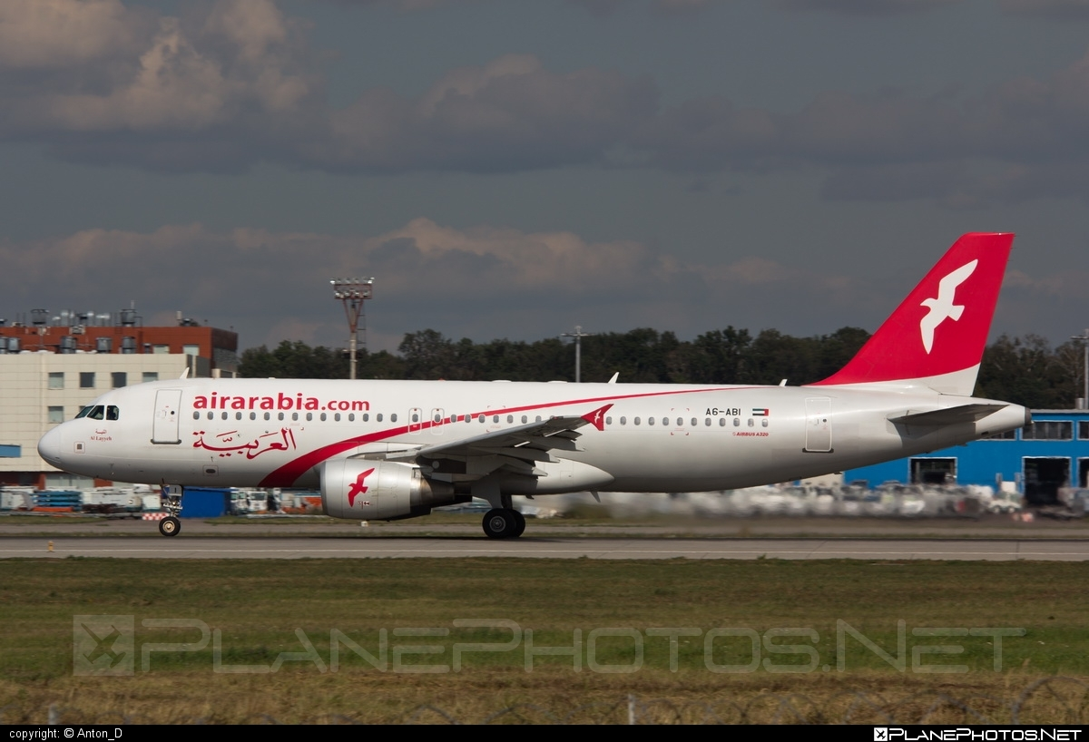 Airbus A320-214 - A6-ABI operated by Air Arabia #a320 #a320family #airarabia #airbus #airbus320