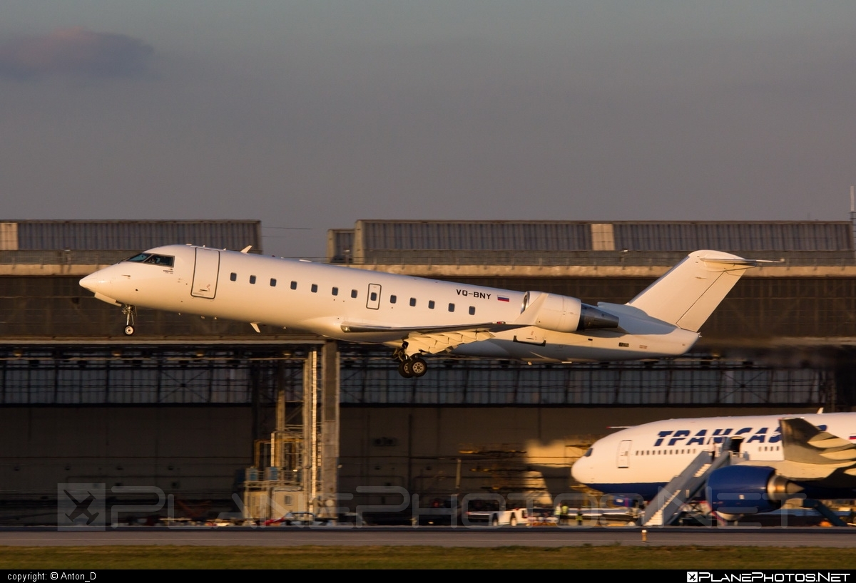 Bombardier CRJ100ER - VQ-BNY operated by RusLine #bombardier #crj100 #crj100er