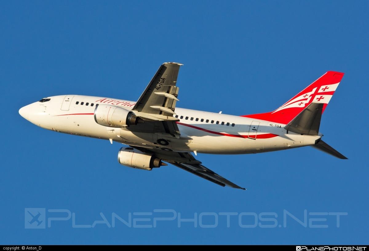 Boeing 737-500 - 4L-TGA operated by Georgian Airways - Airzena #airzena #b737 #boeing #boeing737 #georgianairways