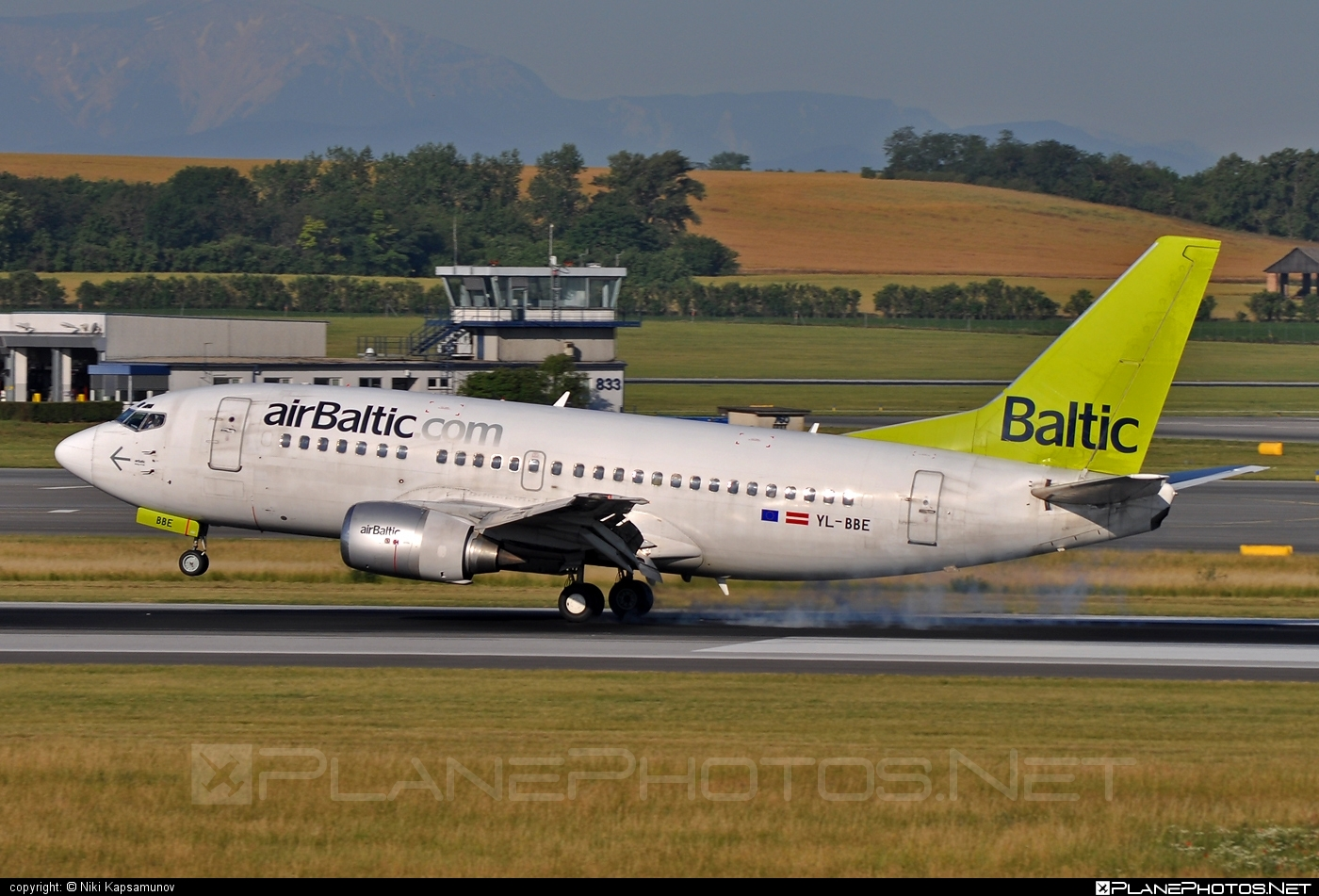 Boeing 737-500 - YL-BBE operated by Air Baltic #airbaltic #b737 #boeing #boeing737