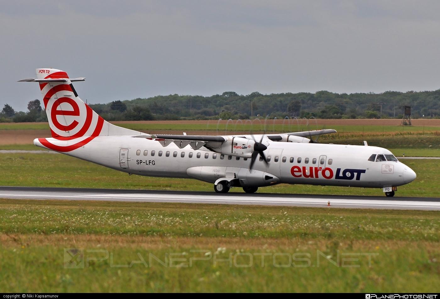 ATR 72-202 - SP-LFG operated by EuroLOT #atr