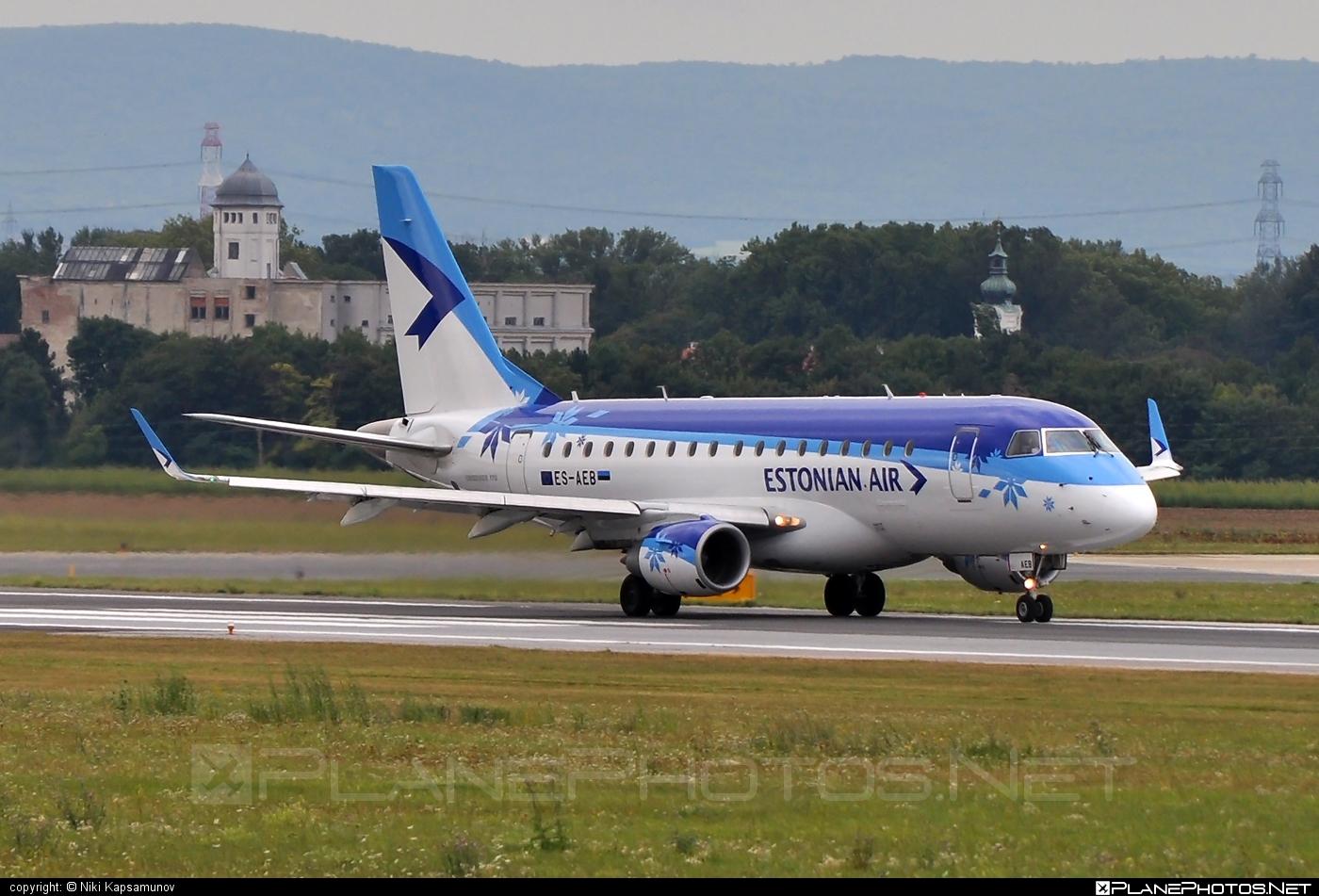 Embraer E170LR (ERJ-170-100LR) - ES-AEB operated by Estonian Air #e170 #embraer #embraer170 #embraer170lr #erj170 #erj170100 #erj170100lr #erj170lr