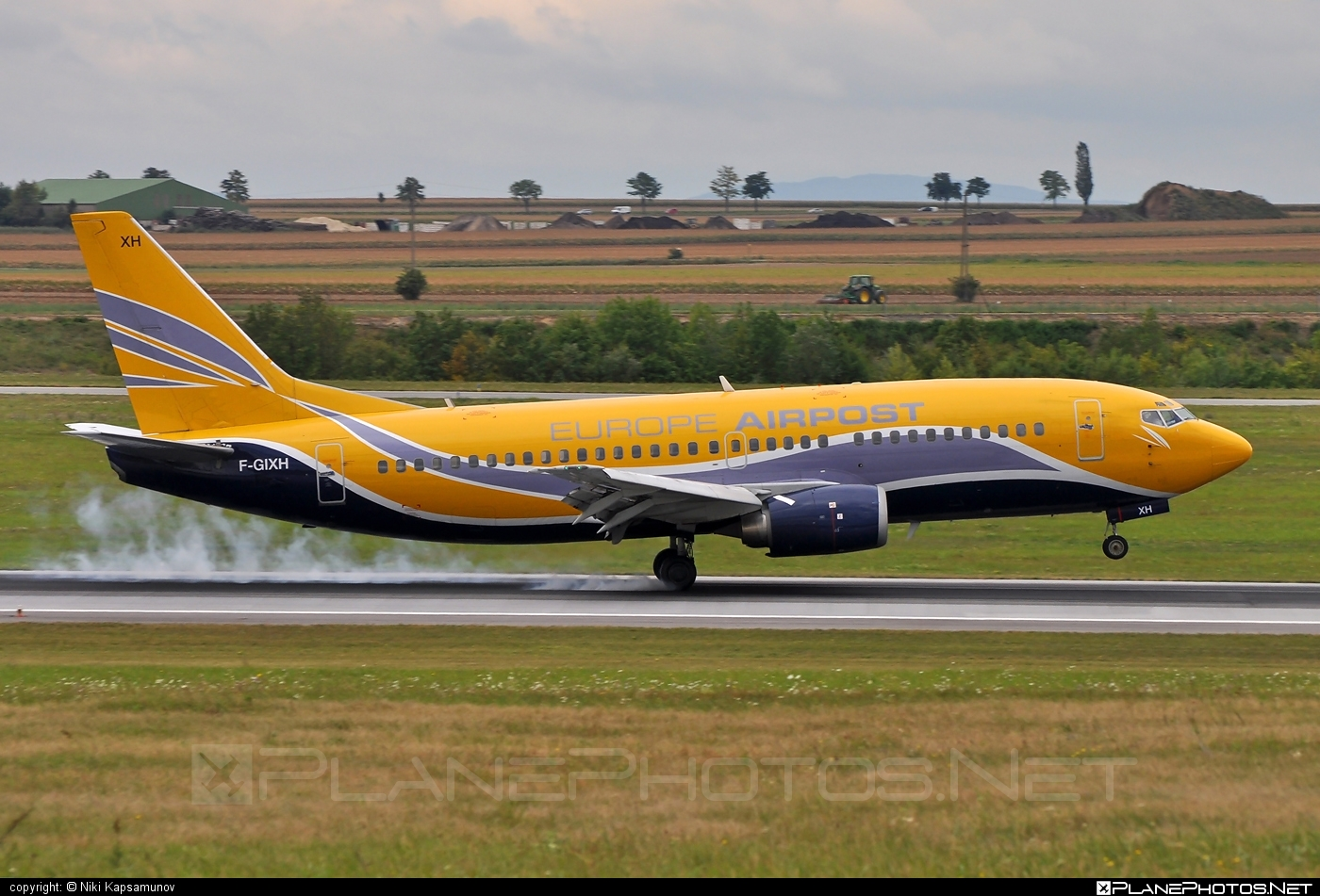 Boeing 737-300QC - F-GIXH operated by Europe Airpost #b737 #b737qc #boeing #boeing737