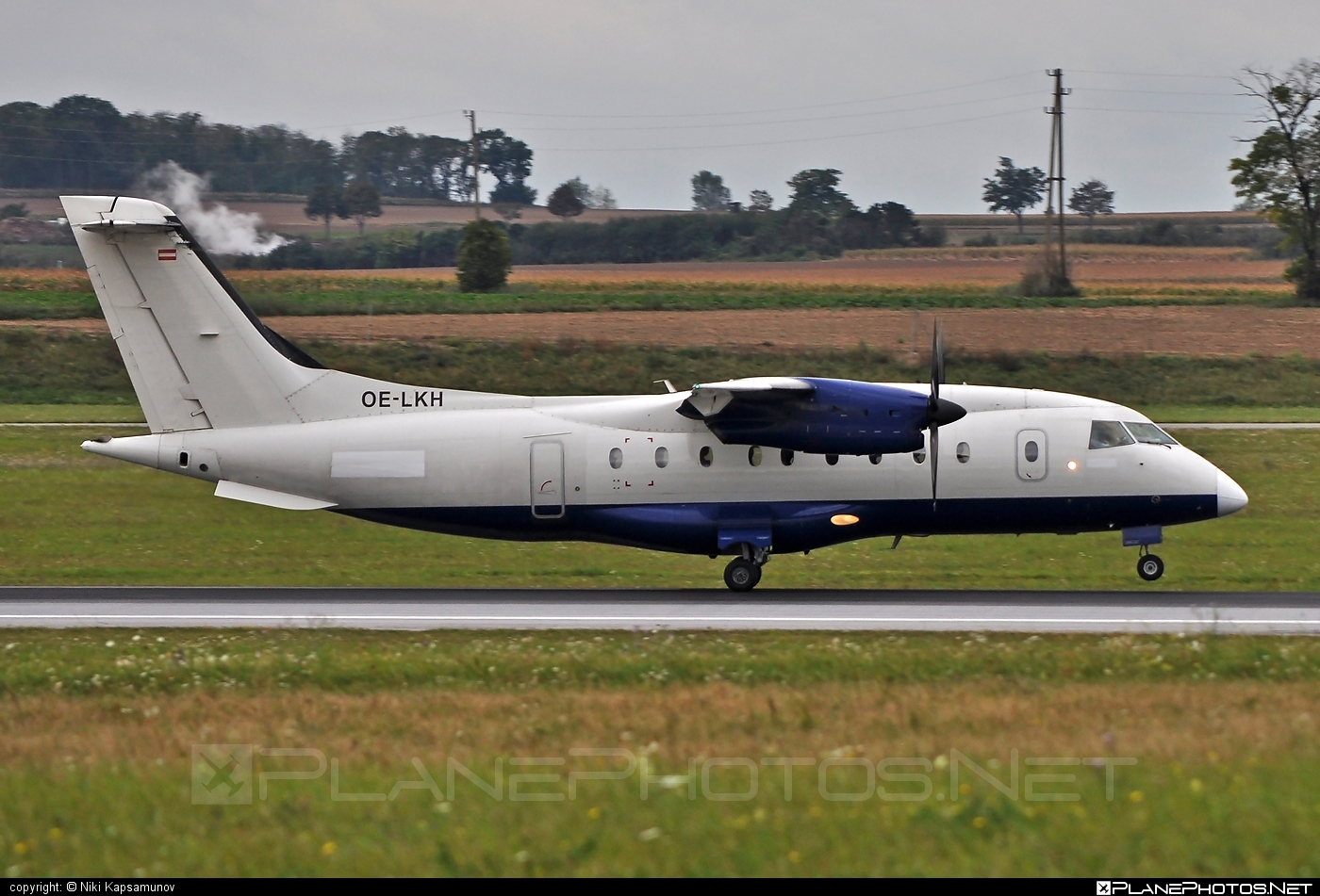 Dornier 328-110 - OE-LKH operated by Air Alps Aviation #dornier