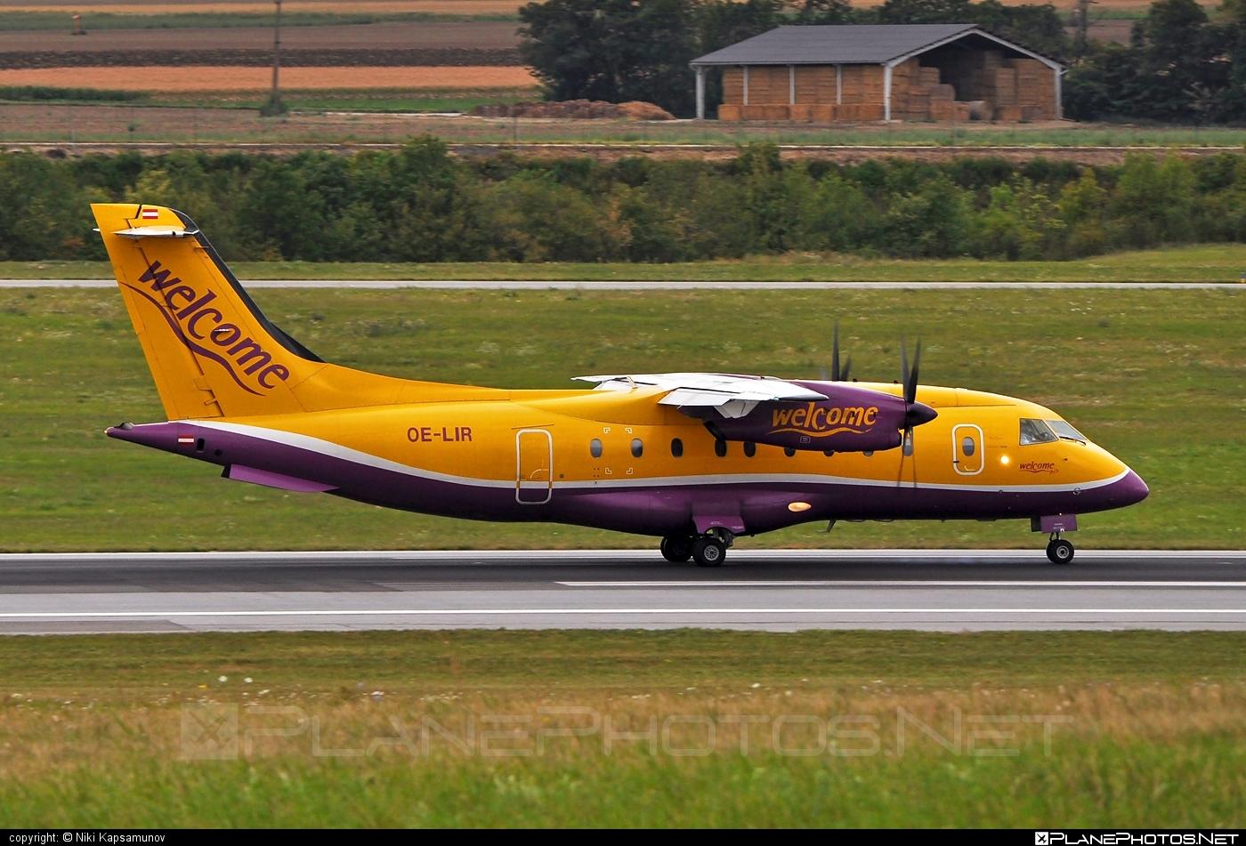 Dornier 328-110 - OE-LIR operated by Welcome Air #dornier