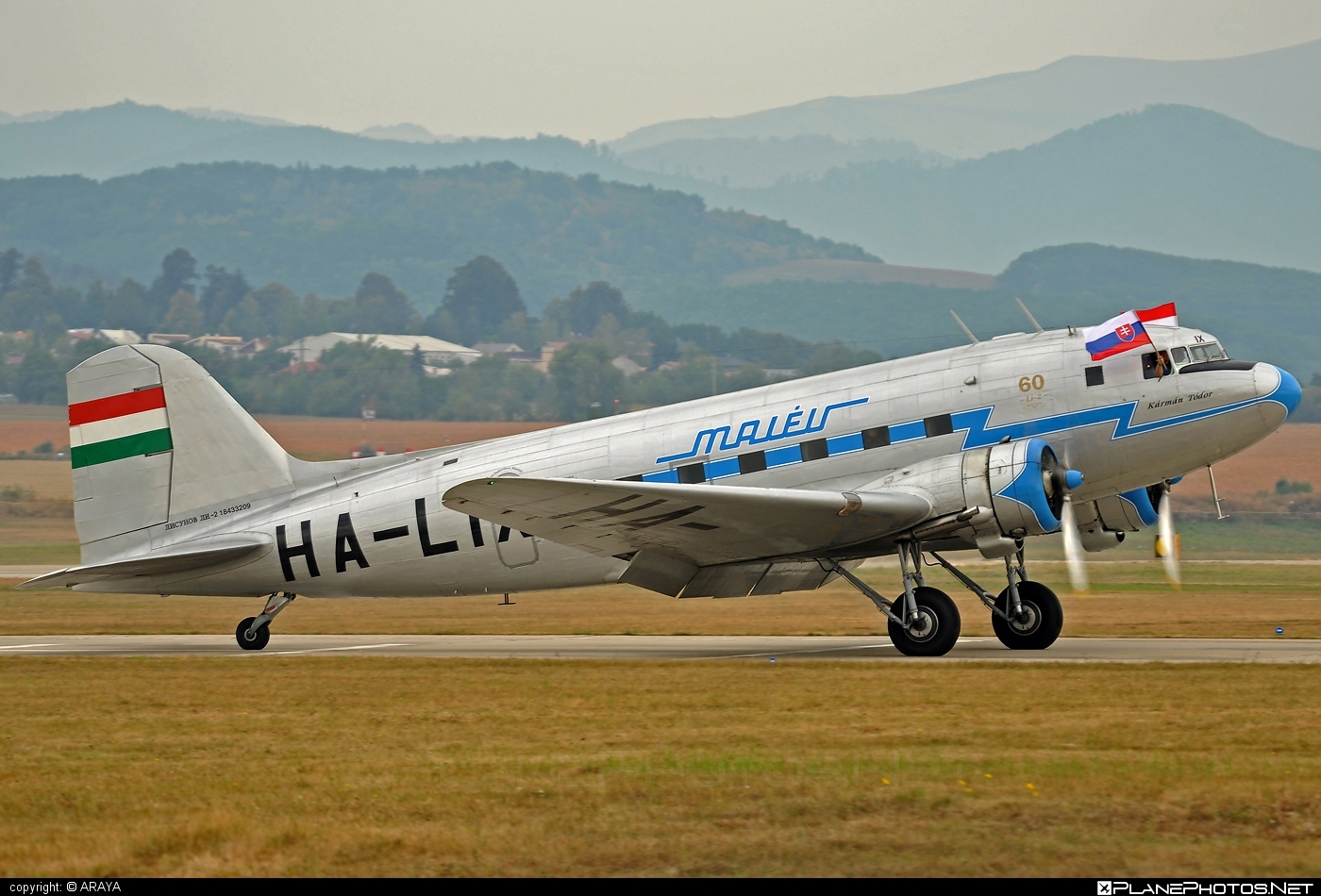 Lisunov Li-2T - HA-LIX operated by Goldtimer Foundation #lisunov