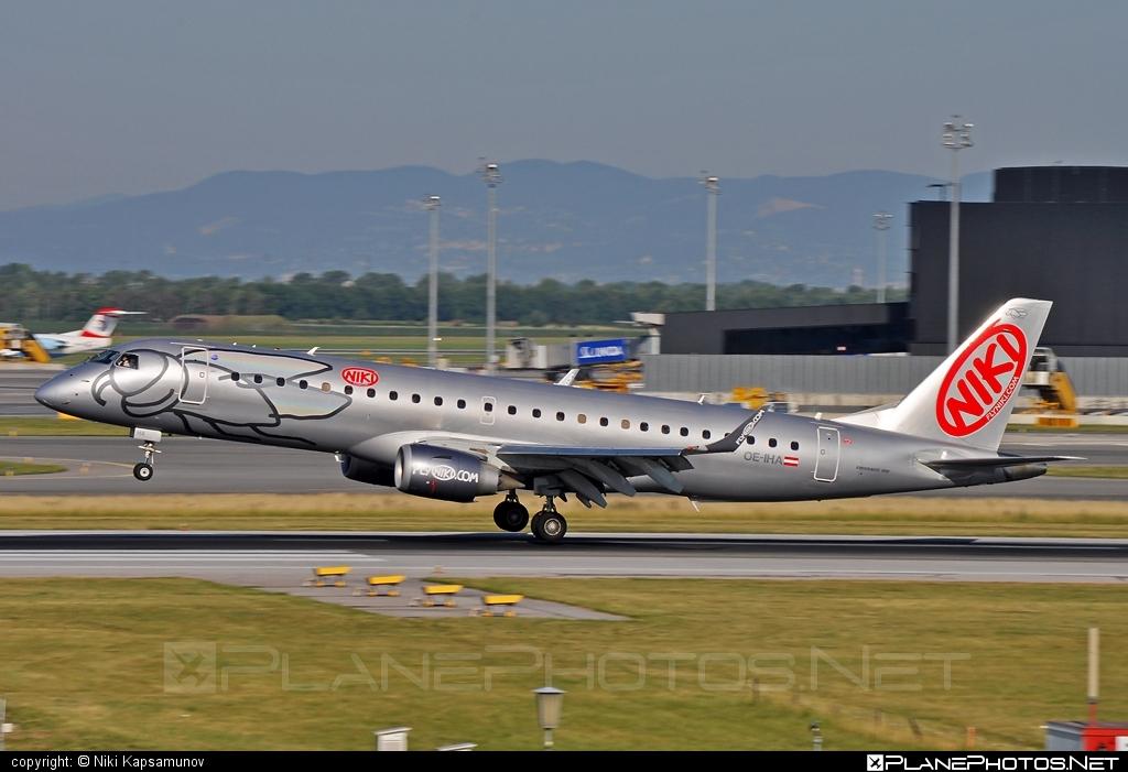 Embraer 190-100LR - OE-IHA operated by Niki #e190 #embraer #embraer190 #embraer190lr #flyniki #niki