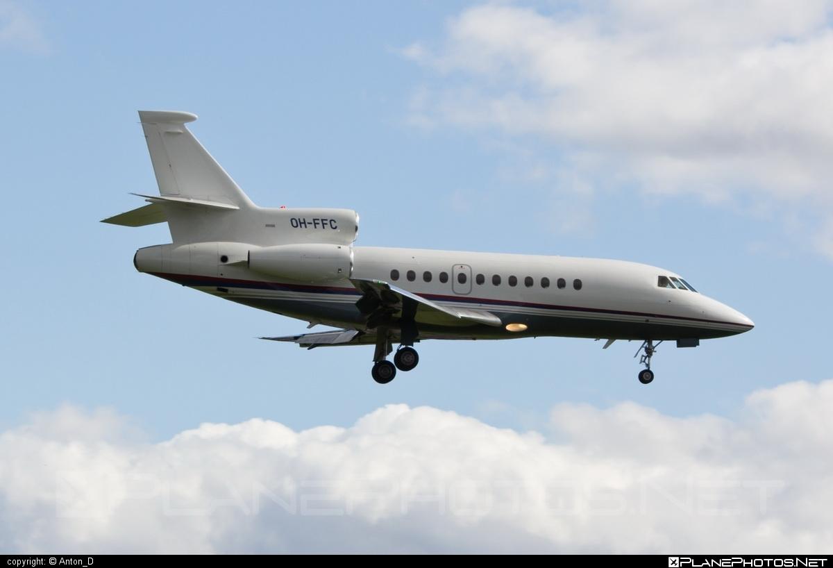 Dassault Falcon 900EX - OH-FFC operated by Airfix Aviation #dassault