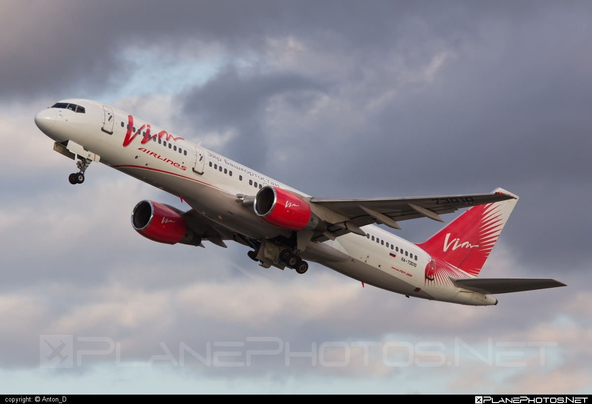 Boeing 757-200 - RA-73010 operated by Vim Airlines #b757 #boeing #boeing757