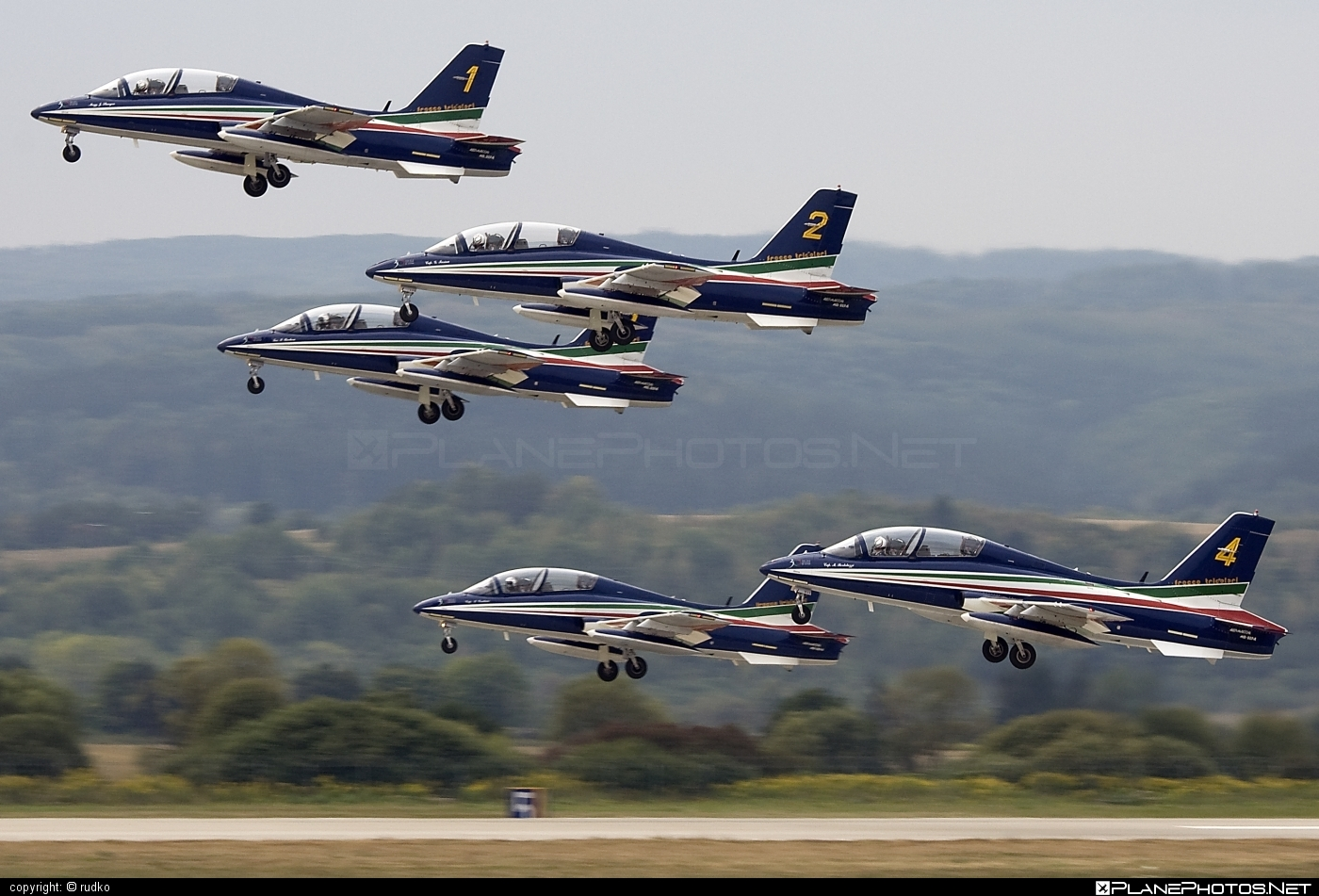 Aermacchi MB-339-A/PAN - MM54517 operated by Aeronautica Militare (Italian Air Force) #aermacchi #aermacchi339 #aermacchimb339 #aermacchimb339apan #mb339 #mb339apan