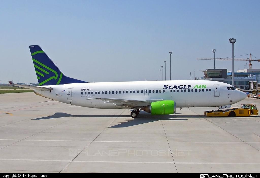 Boeing 737-300 - OM-HLC operated by SeagleAir #b737 #boeing #boeing737