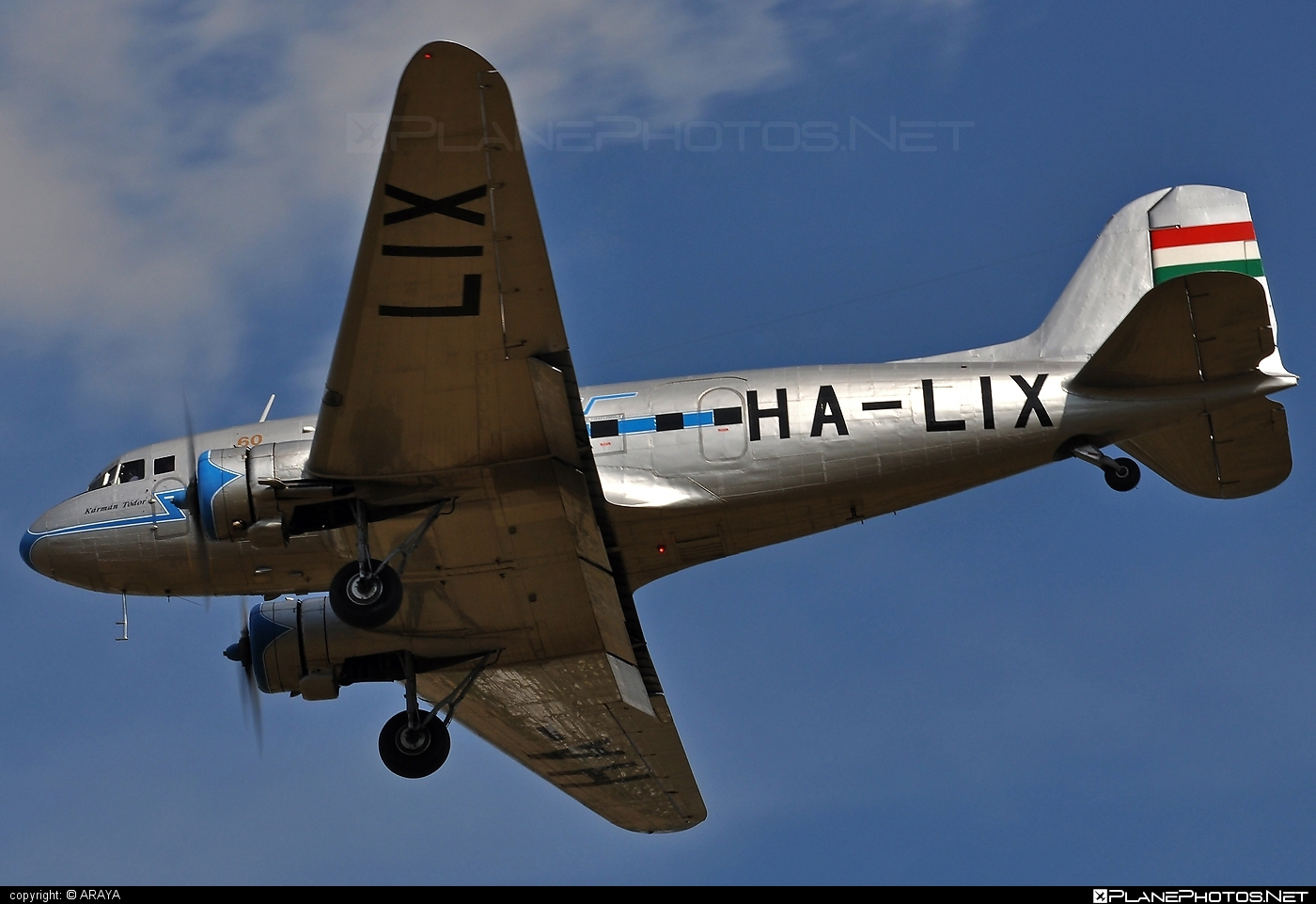 Lisunov Li-2T - HA-LIX operated by Goldtimer Foundation #lisunov