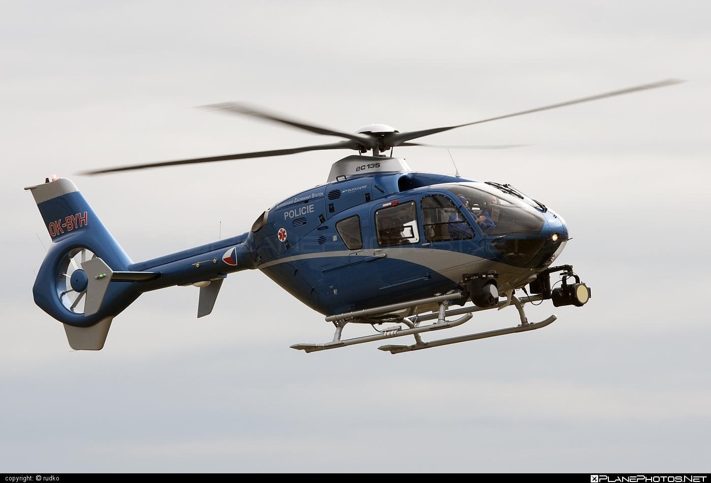 Eurocopter EC135 T2 - OK-BYH operated by Policie ČR (Czech Police) #czechpolice #ec135 #ec135t2 #eurocopter #natodays #natodays2012 #policiecr