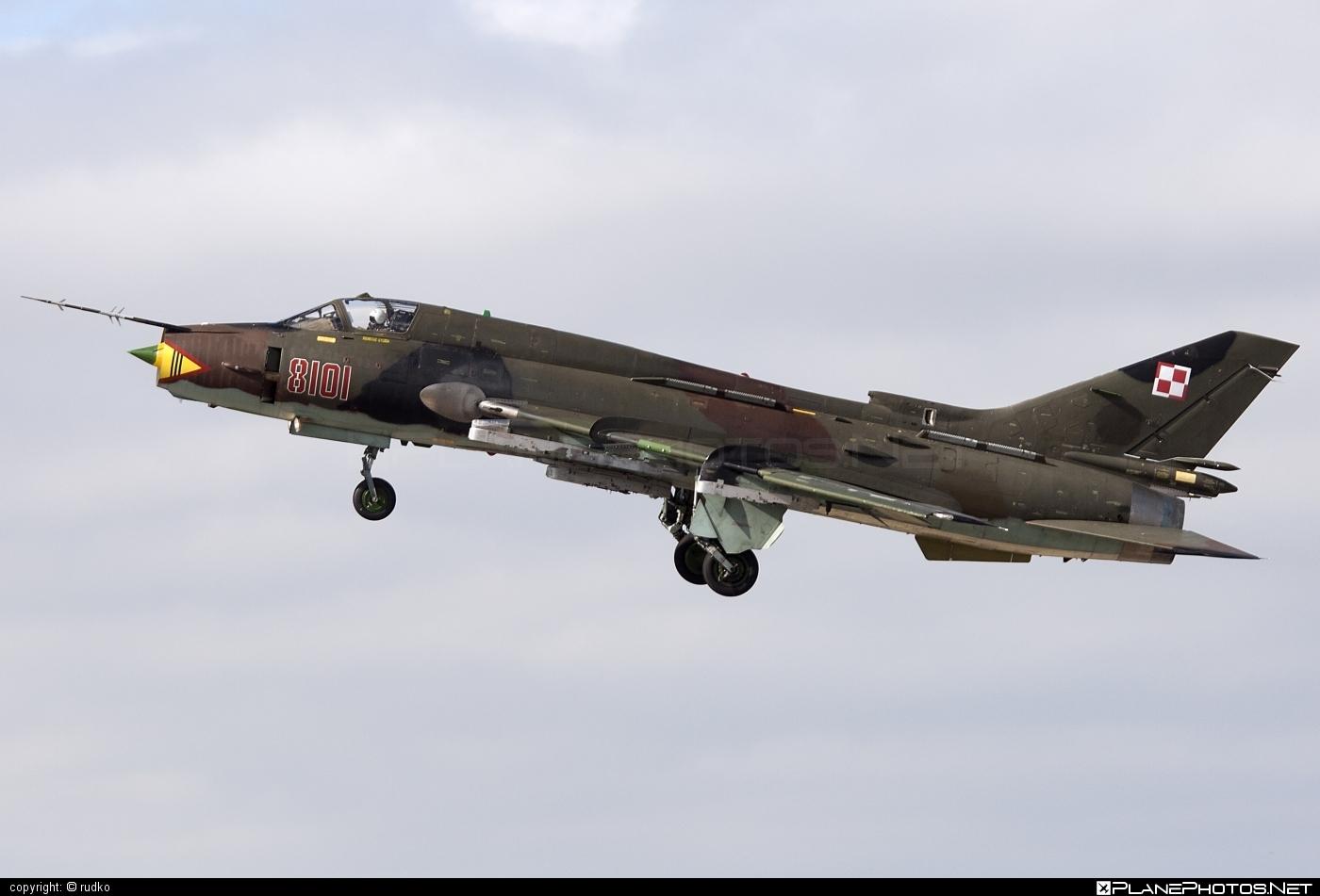 Sukhoi Su-22M4 - 8101 operated by Siły Powietrzne Rzeczypospolitej Polskiej (Polish Air Force) #natodays #natodays2012 #polishairforce #silypowietrzne #sukhoi